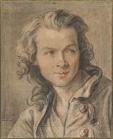 Portrait of Étienne Maurice Falconet by Jean-Baptiste Lemoyne the Younger 1741